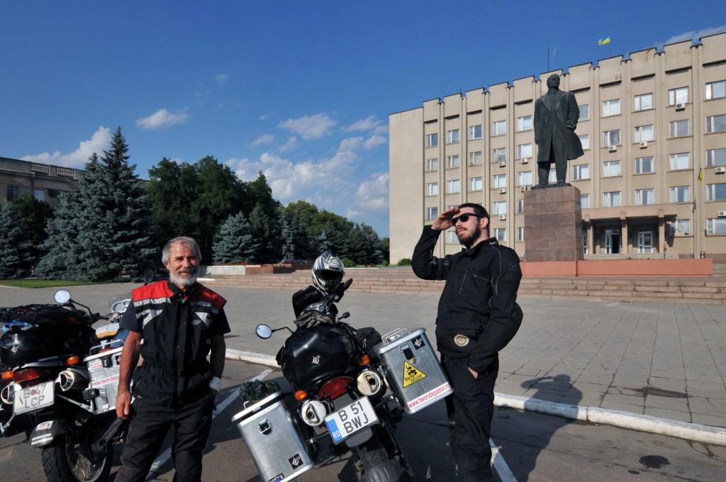 Noi si Lenin, la Izmail