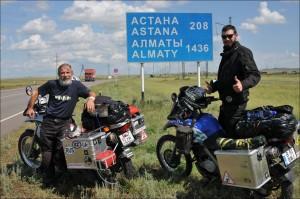 9. Rumunia, Kazakhstan, haraşo, expediţia, motoţicla, rahmat!
