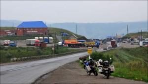 7. Peste Muntii Ural in Asia